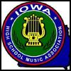 Iowa High School Music Association logo