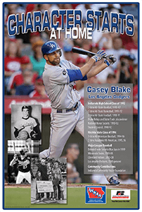 Graphic of the Casey Blake poster