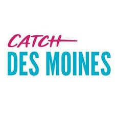 The logo for Catch Des Moines