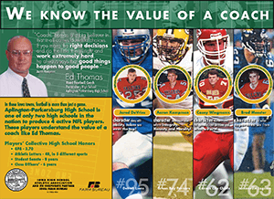Graphic of the Ed Thomas poster