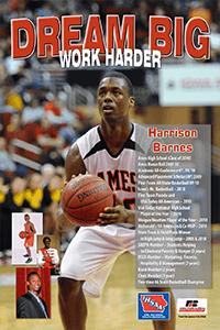 Graphic of Harrison Barnes poster
