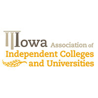 Logo for the Iowa Association of Independent Collages and Universities