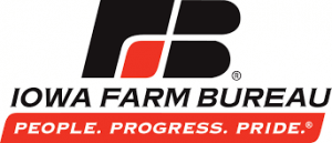 Graphic logo for Iowa Farm Bureau