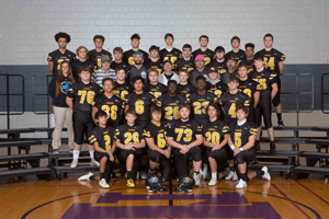 IHSAA Football Team Photograph