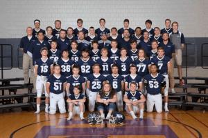 Photo of an IHSAA Football team photo