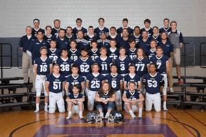 IHSAA photo of a football team