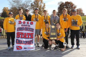 2018 Class 2A XC State Champions