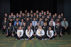 IHSAA group posing for a photo