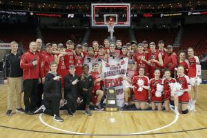 Image of 2019 State Basketball Champions
