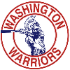 Logo of local high school Washington Warriors sports team