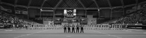 Image of referees during a football game