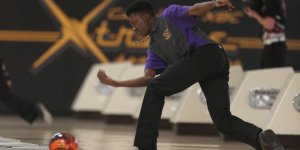 Waukee bowling player throwing the ball