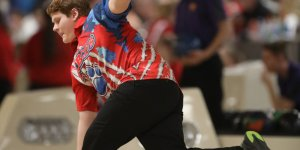 Image of bowler mid-throw