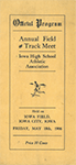 Image of the first ever state track meet