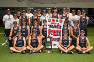 Picture of the 2019 Class 3A track winners