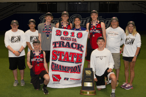 Picture of the 2019 Class 1A Track State Champions