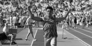 Image of Dubuque Senior runner