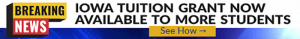 Iowa Tuition Grant banner