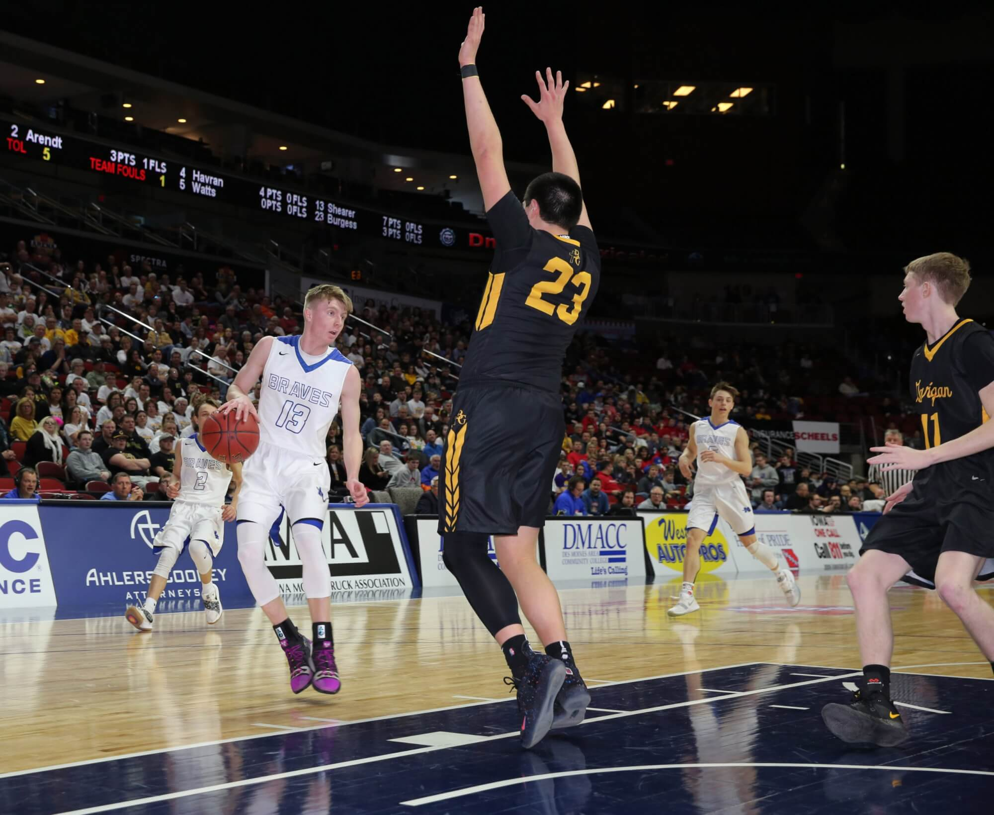 Basketball: 2A & 1A District Assignments