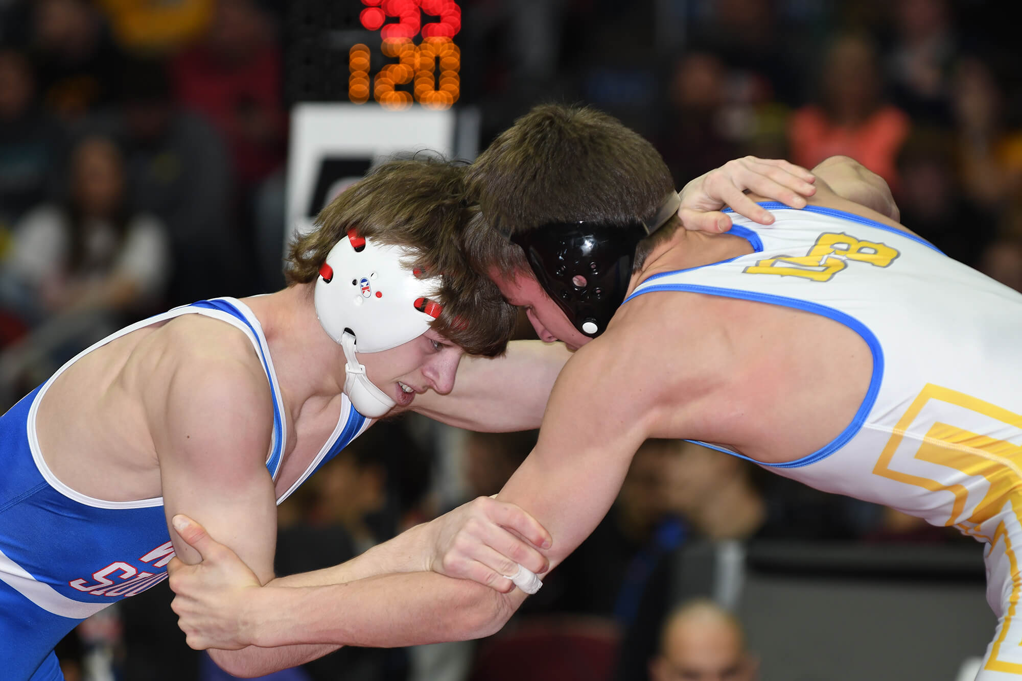 Wrestling: State Tournament Brackets