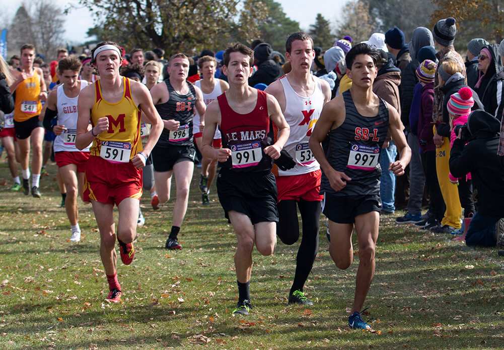 Cross Country: 2020 Postseason Dates Split