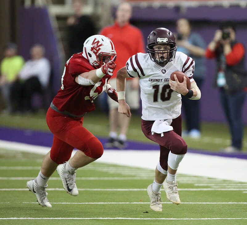 Football: 2020 Playoff Assignments