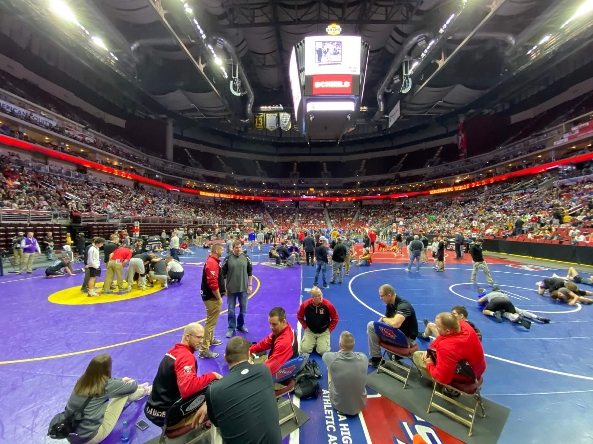 Wrestling: 2021 Postseason Assignments