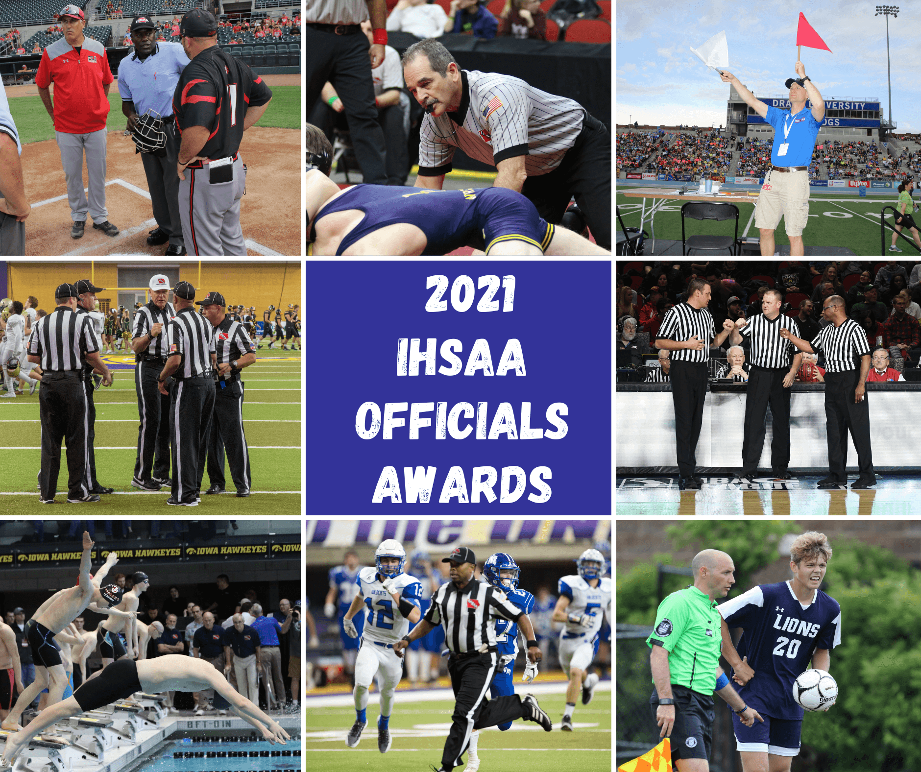 Officials: 2021 Awards & Recognition